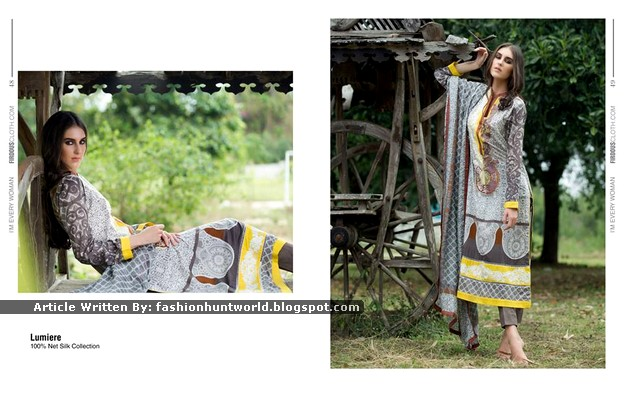 Firdous Spring Collection 2015 Look-Book