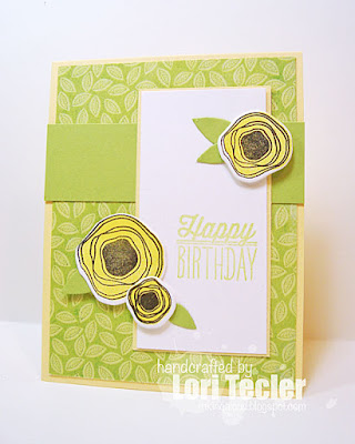 Happy Birthday card-designed by Lori Tecler/Inking Aloud-stamps and dies from Verve Stamps