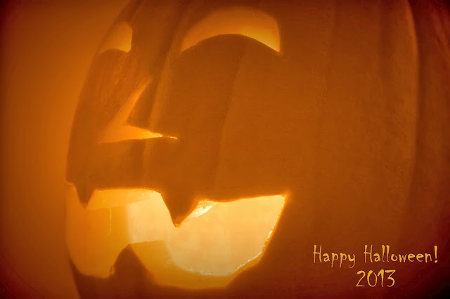 Happy Halloween 2013 Jack-O-Lantern