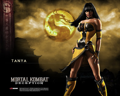 Mortal Kombat Deception Tanya Wallpaper