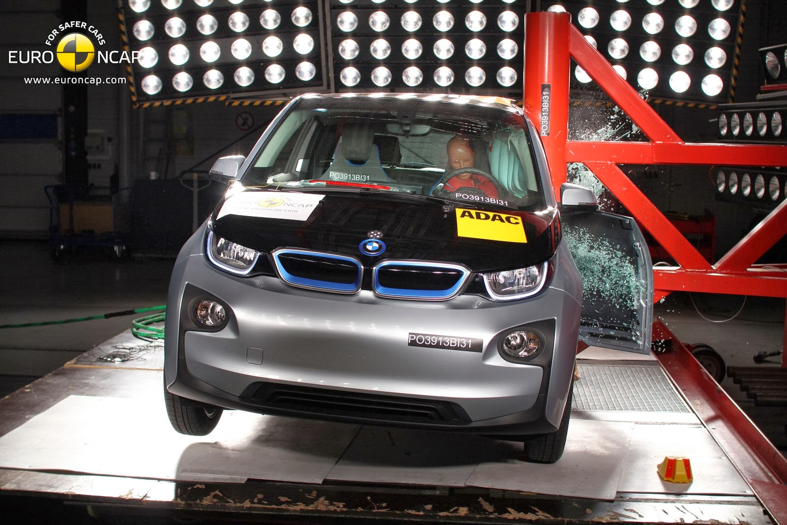 The Electric BMW i3: BMW i3 Earns 4 Out of 5 Rating in Euro NCAP