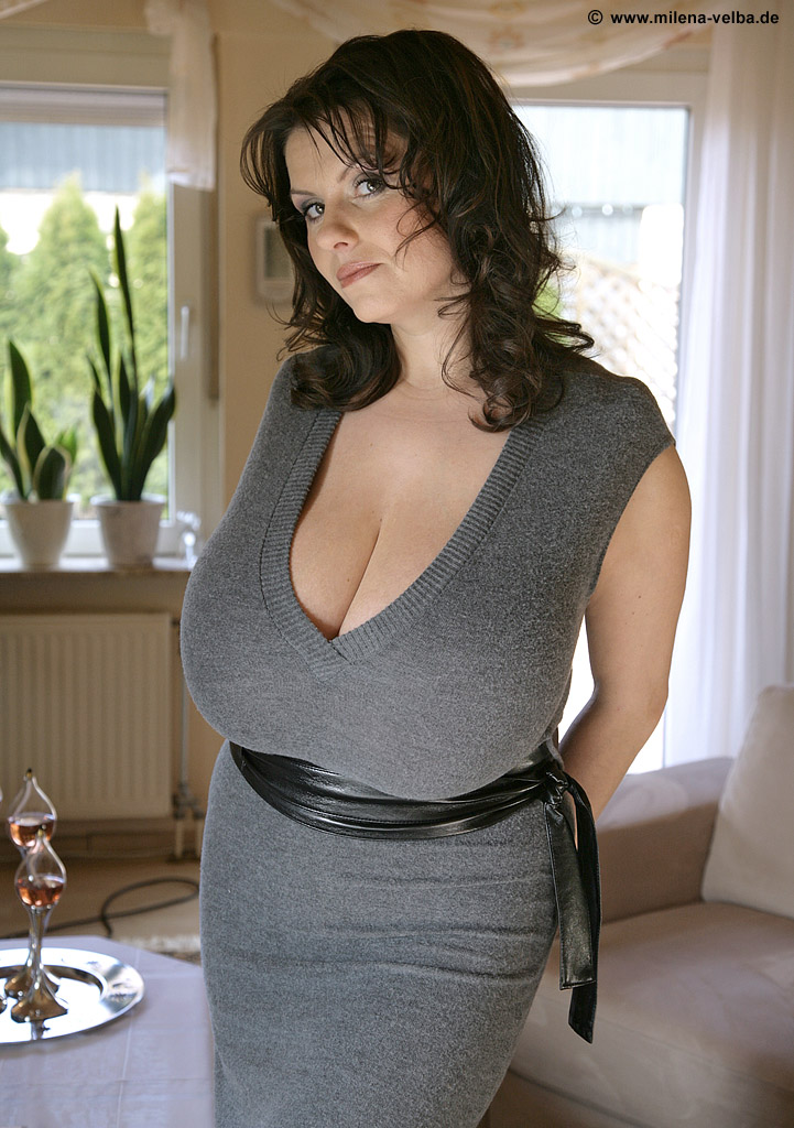 M Velba: Grey Dress