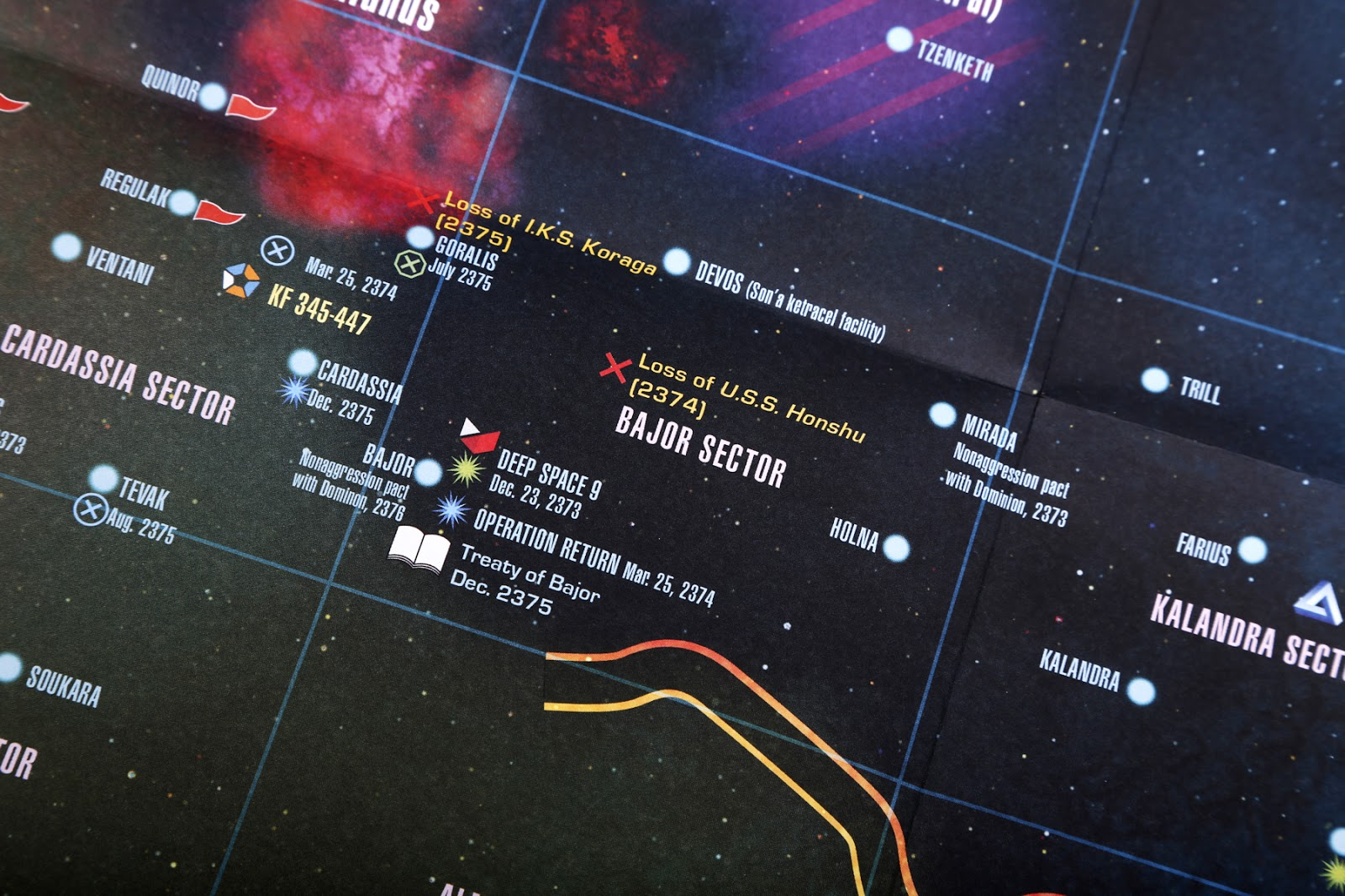 The trek collective review stellar cartography details around deep space 9 fandeluxe Document
