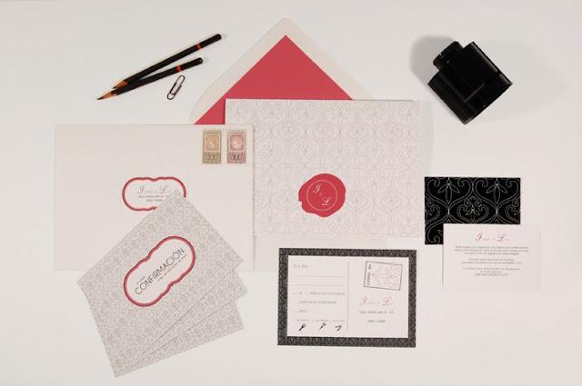 Invitaciones de boda de diseño
