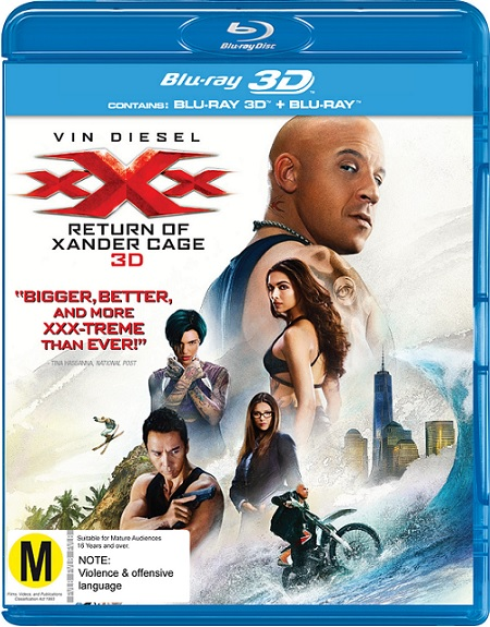 xXx: Return of Xander Cage 3D (2017) m1080p BDRip 3D Half-OU 11GB mkv Dual Audio DTS-HD 7.1 ch