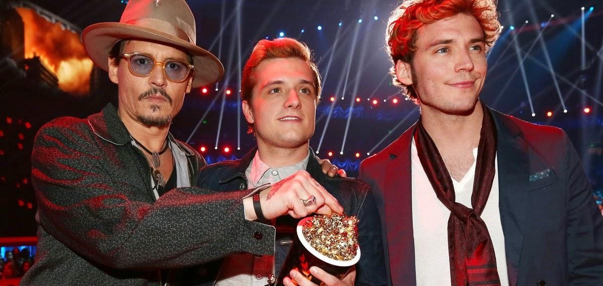 Jogos Vorazes: Em Chamas vence o MTV Movie Awards 2014