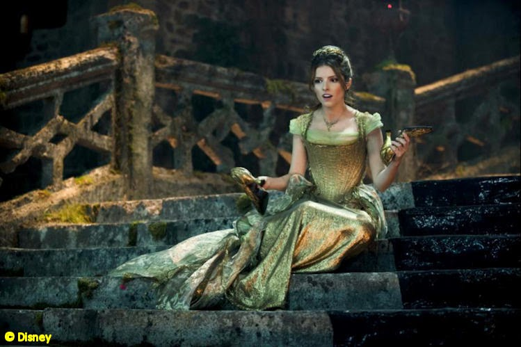 "Anna Kendrick as Cinderella in ""Into the Woods"""