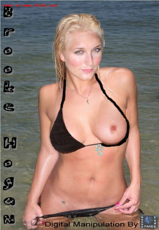 Brooke Hogan en bikini - Photos de Stars Nues
