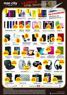 Mac City Bargain Corner Sale 2012