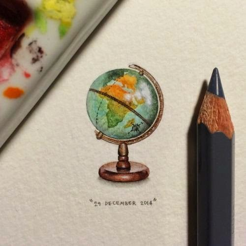 30-Globe-Of-The-World-Lorraine-Loots-Miniature-Paintings-Commemorating-Special-Occasions-www-designstack-co