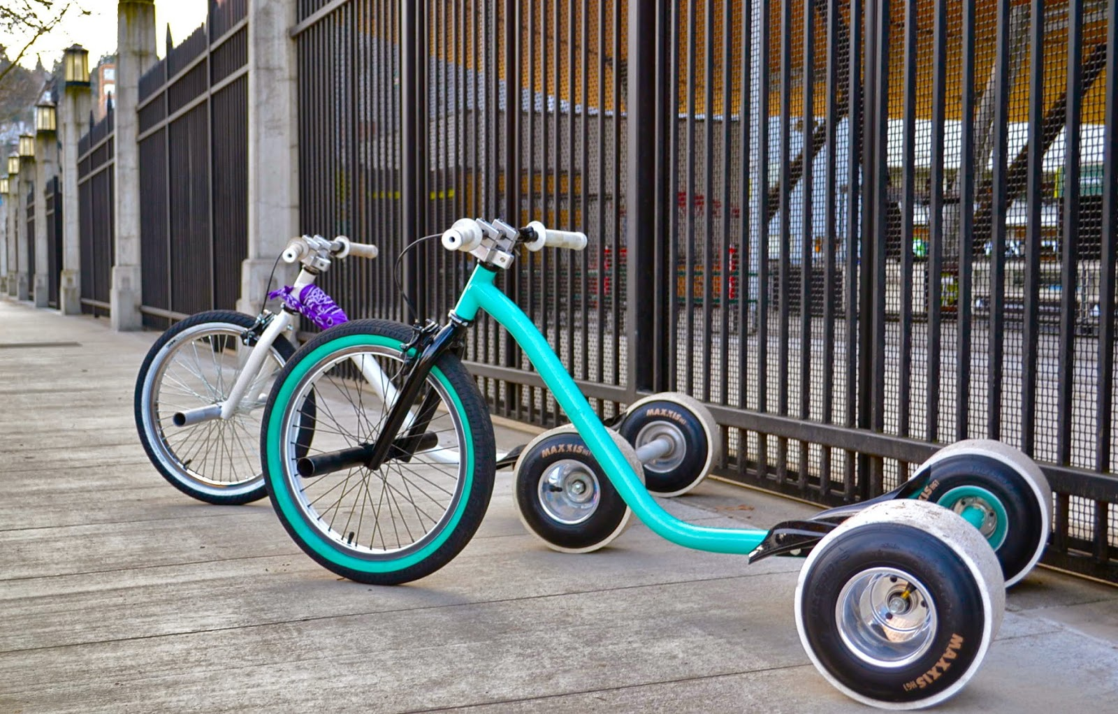 Дрифт велосипед своими руками