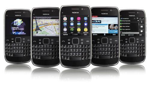 Nokia E6 fotoğrafları