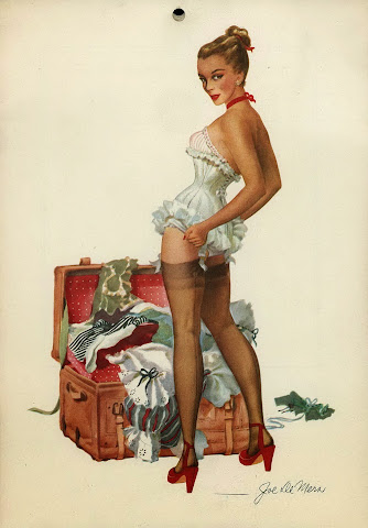Joe De Mers pin up