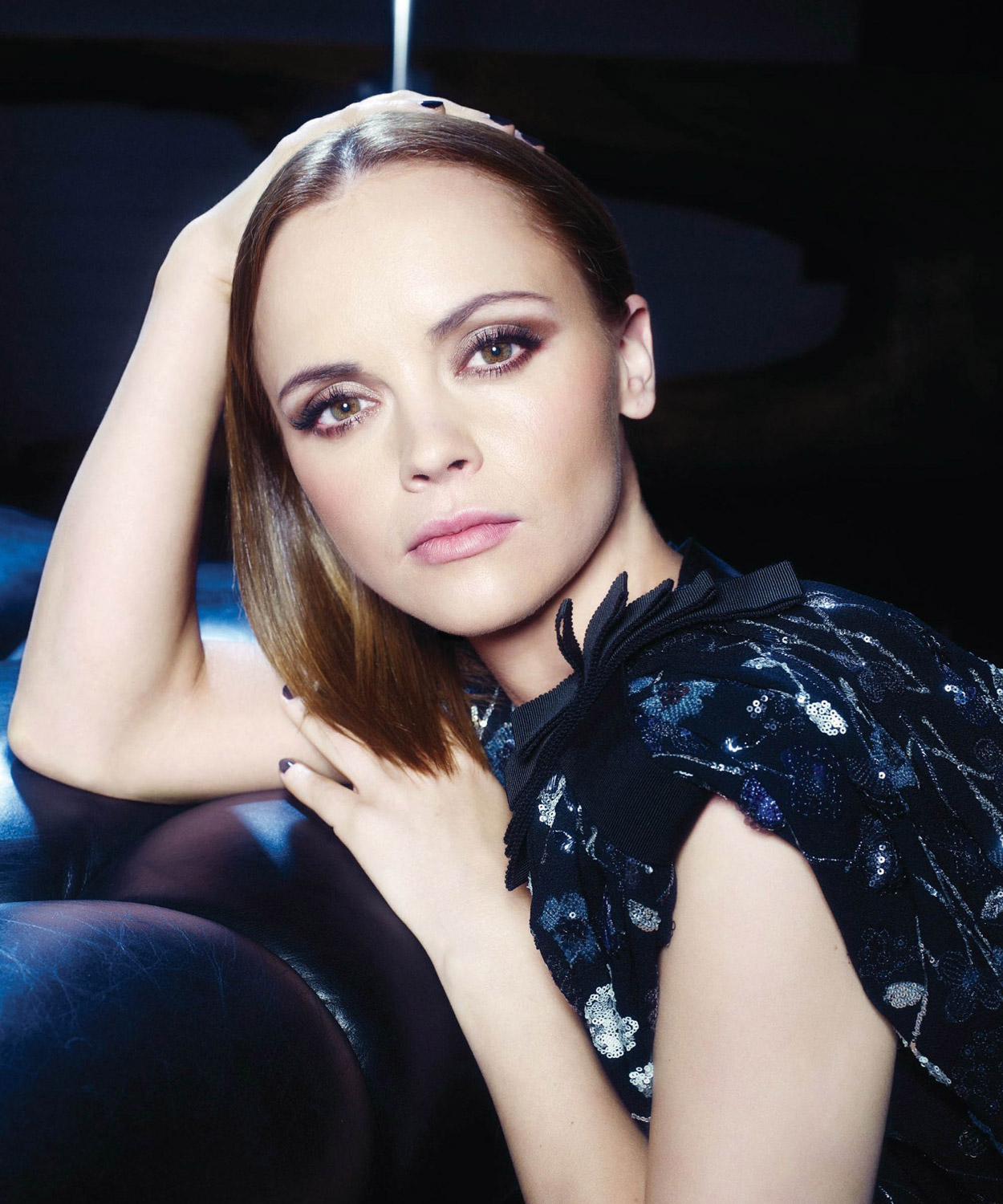 Beauty Christina Ricci Hairstyle on Angeleno Magazine September 2011