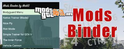 V - Mods Binder (Menu Mod)