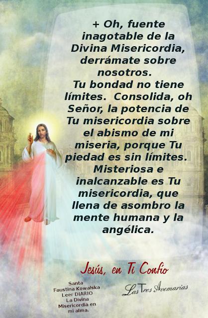 fuente inagotable de la divina misericordia