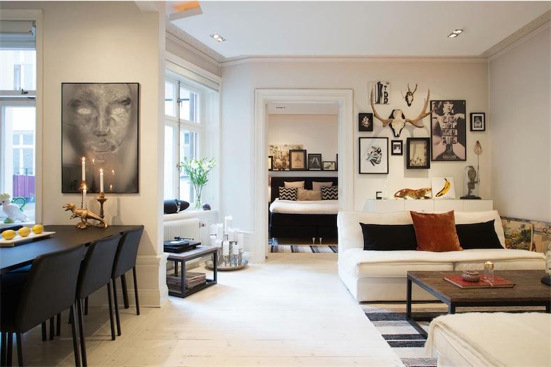 61 metros cuadrados muy bien aprovechados 61 very well for Apartamentos pequenos bien decorados