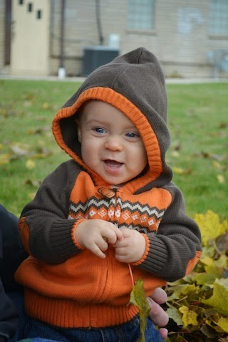Our Precious Little Grandson--Grant...now 10 months