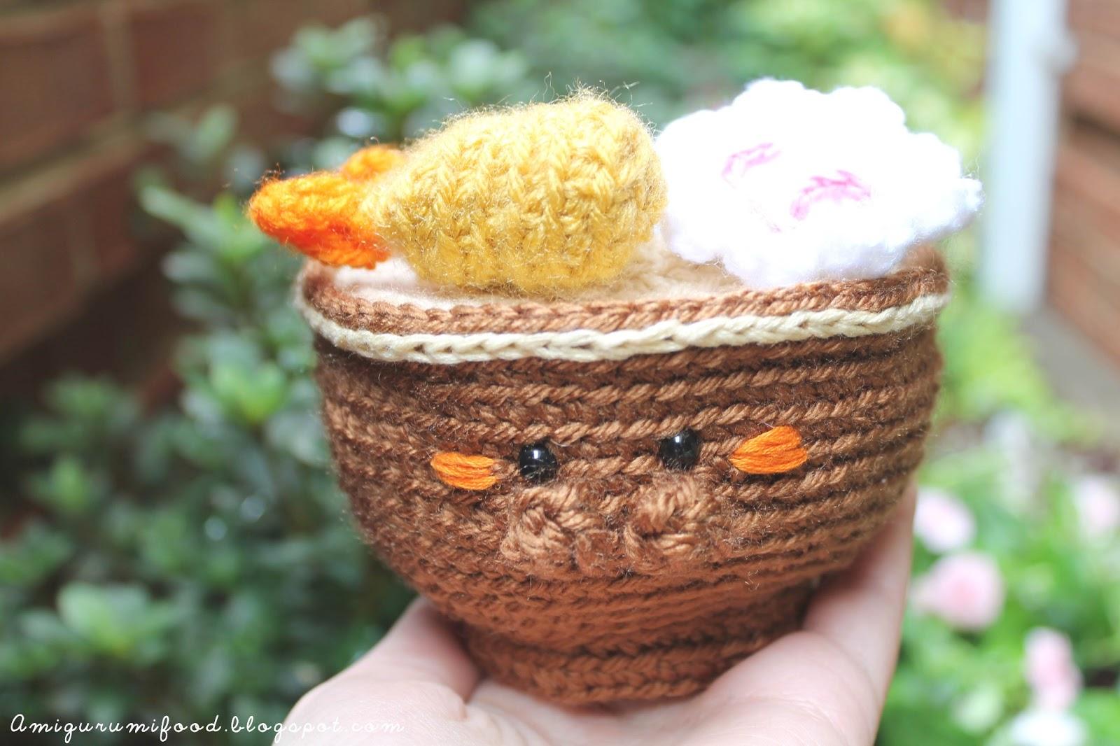 Amigurumi Food : Amigurumi Food: Ramen Amigurumi!!