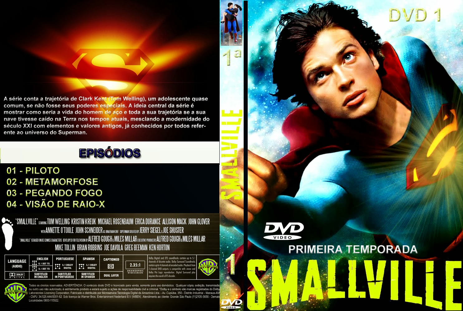 Capas em s rie capas dvd s rie smallville for O jardineiro fiel capa