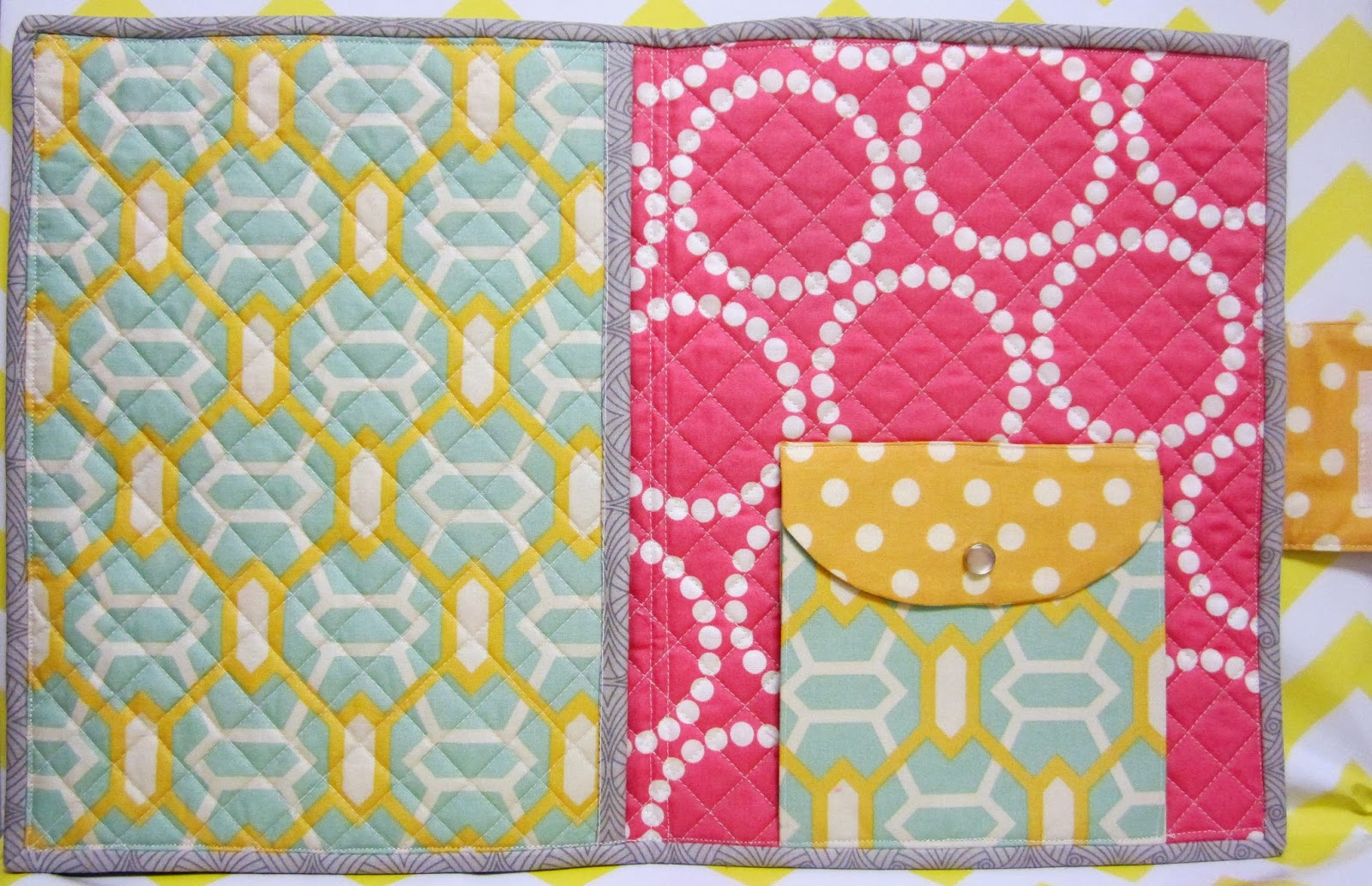 Patchwork, Please - iPad Cover