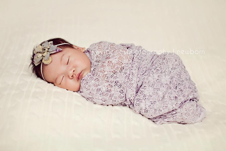 newborn girl-Bellevue newborn photographer