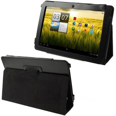 Leather Case With Holder Acer Iconia Tab A200