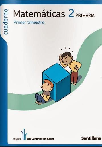 Cuaderno de mates de 2º de primaria
