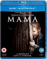 Mama Jessica Chastain Blu-Ray DVD