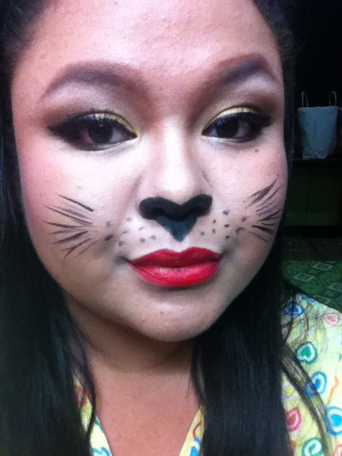JANNIEOLOGY: Halloween Makeup Collaboration : Sexy Cat (Animal Theme)