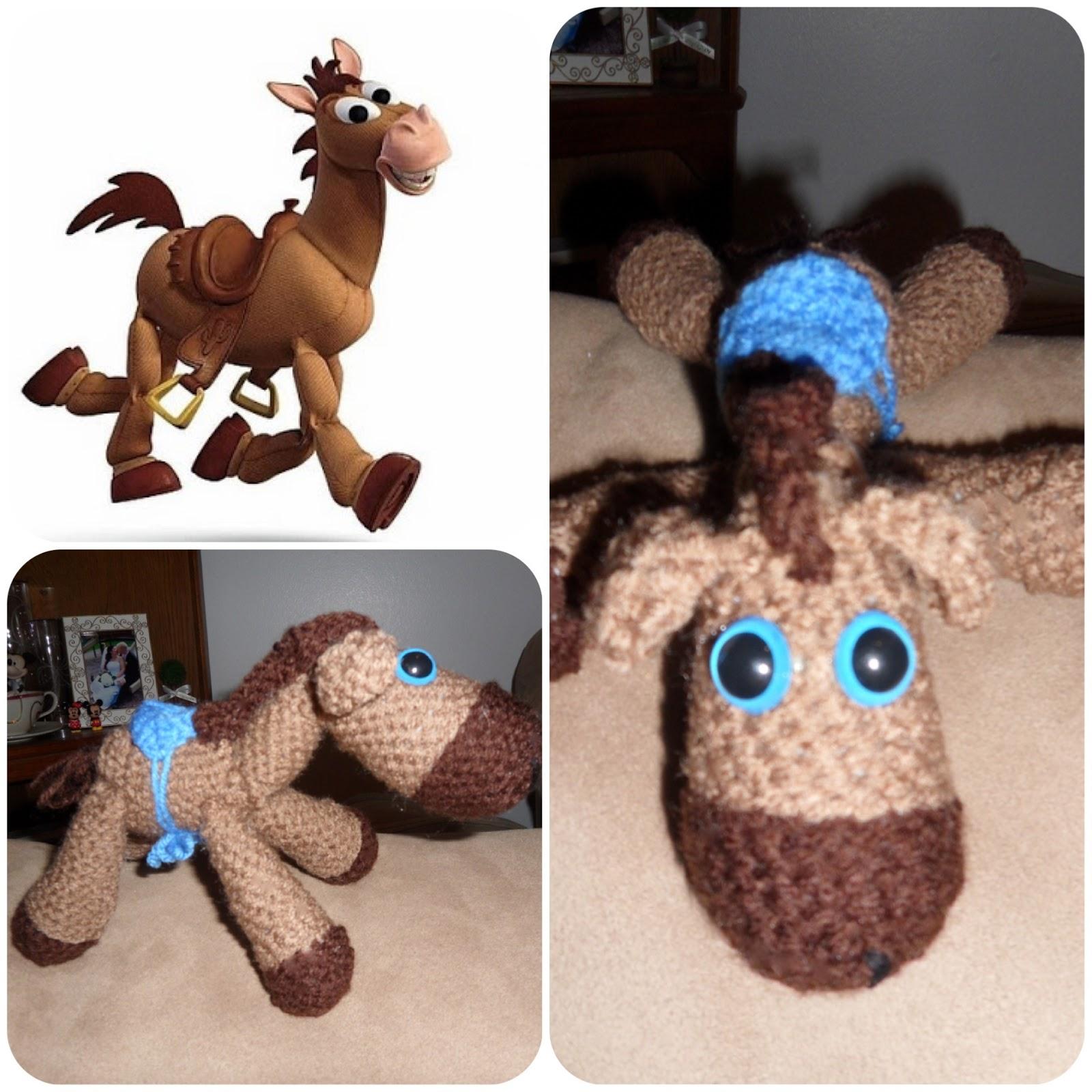 Picturing Disney Free Bullseye From Toy Story Crochet Pattern