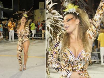 Fotos musas do Carnaval 2011 - São Paulo - 1° noite - Sheila Mello