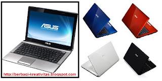 Daftar Laptop Asus