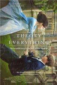 Poster original de La teoría del todo