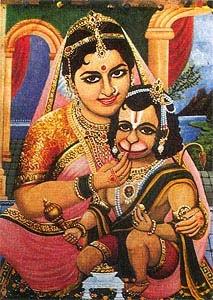 childhood of  Lord Hanuman