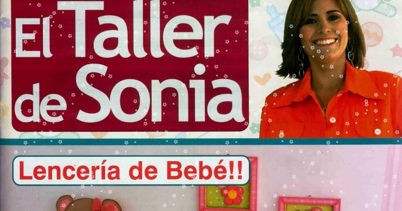 Taller De Sonia Lenceria De Baño:MaryBell Cursos Y Accesorios: REVISTA: EL TALLER DE SONIA