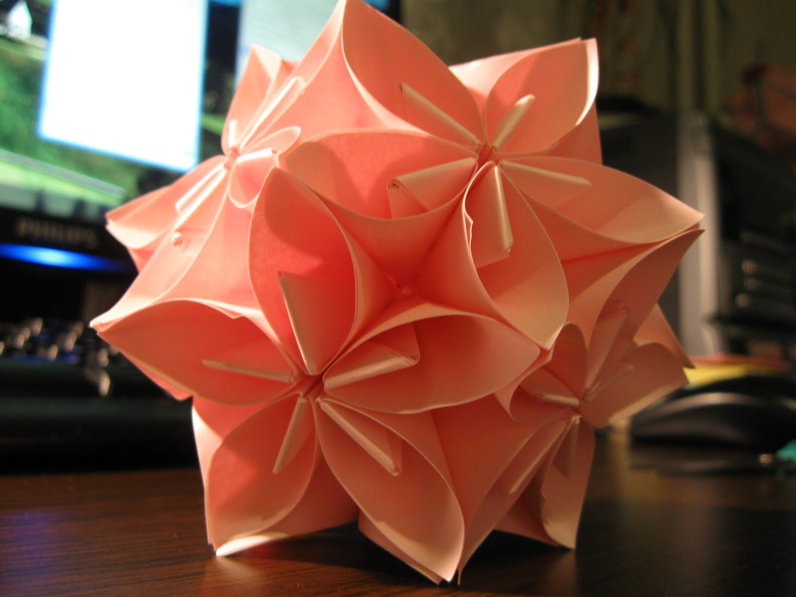 Alpha romeo the origami flower the origami flower are you bored of hard ware science then lets try this soft paper science mightylinksfo