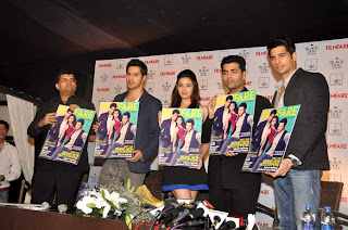 'SOTY' team launches Filmfare's latest issue