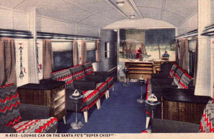santa fe railroad super chief western trips. Black Bedroom Furniture Sets. Home Design Ideas