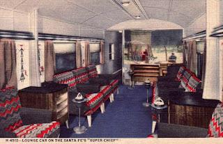 super chief lounge car interior