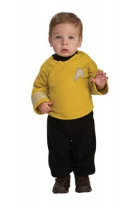 Captain Kirk Star Trek Baby Costume