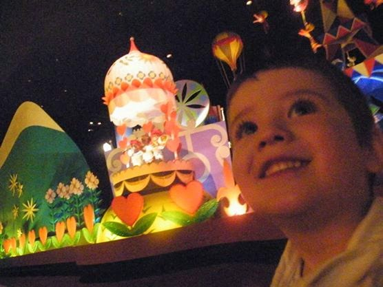 Disney World, family vacation, it's a small world