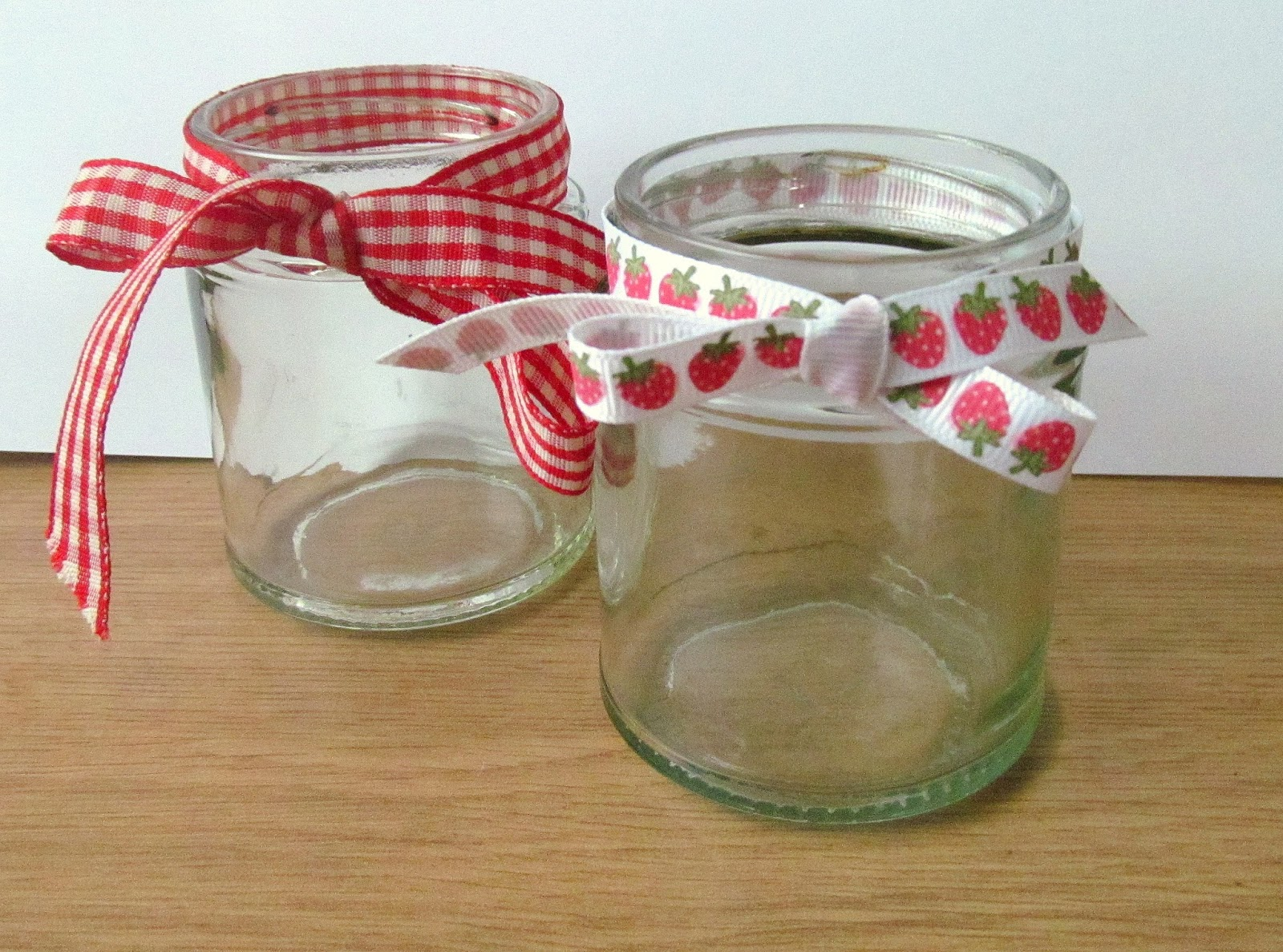 upcycled jars