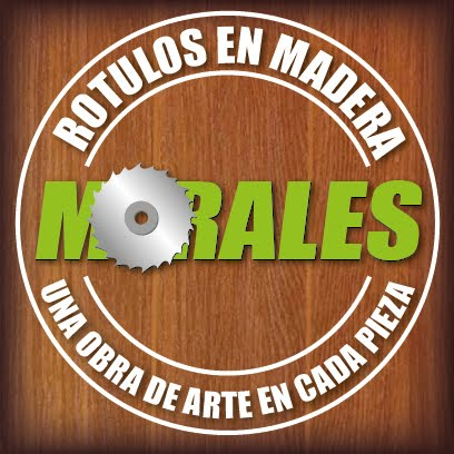 Rotulos en Madera