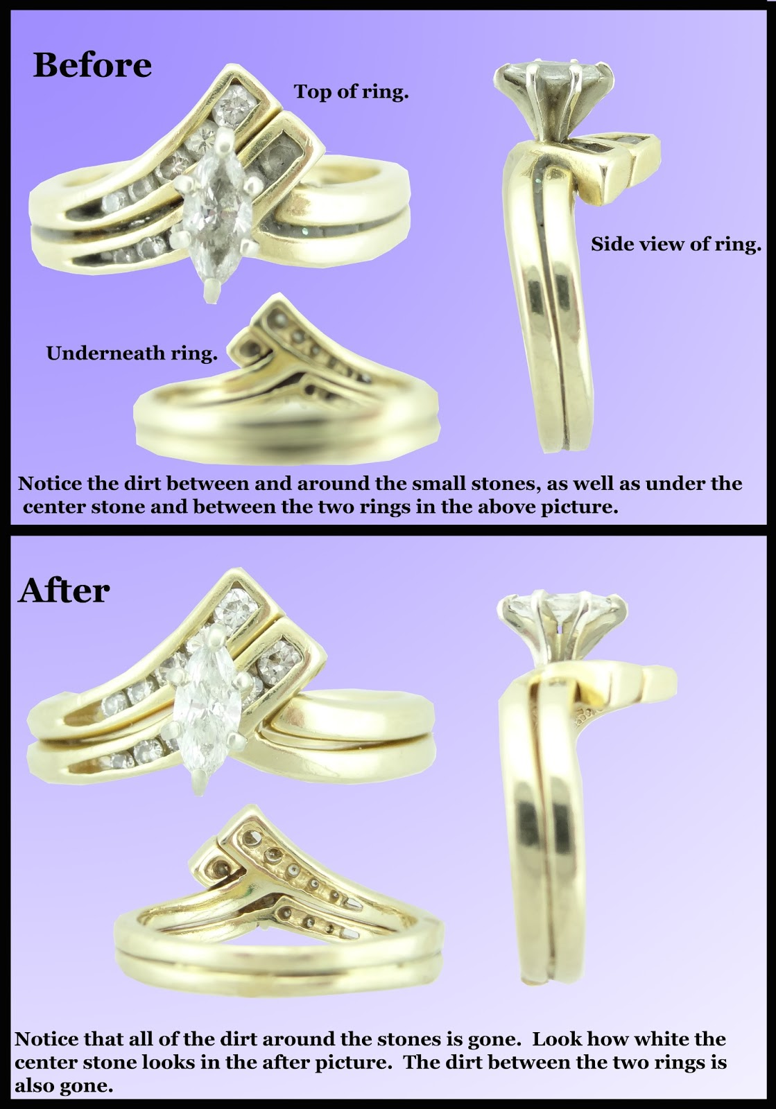 I Truly Believe That There Is No Easier, Safer Way To Clean Fine Jewelry At  Home Okay, I'm Done Saying What I Have To Say Take A Look At The Picture,