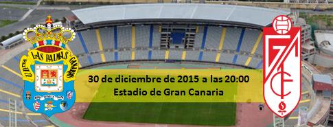 Previa UD Las Palmas - Granada CF 30 Diciembre 2015