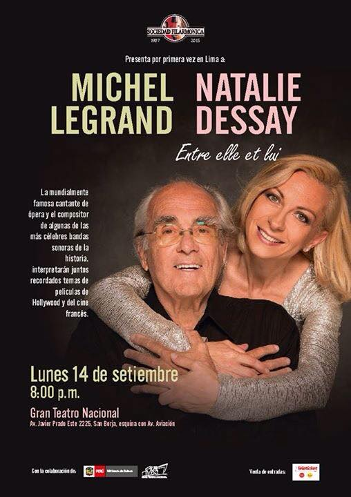 concert natalie dessay michel legrand Amazoncom: natalie dessay chante michel legrand: entre elle et lui   appropriately, both are represented in this june 2014 concert with legrand at the  piano,.