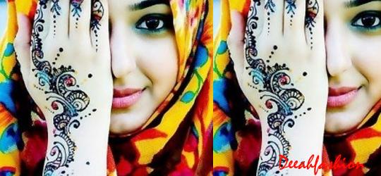 Jilbab Timur Tengah Populer Ngetrend 2014