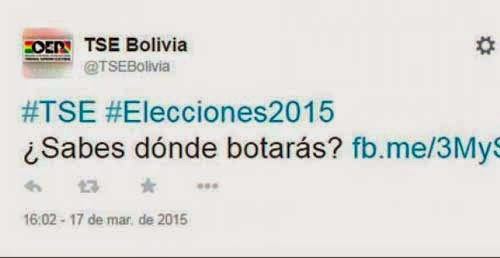 Despiden a funcionario que escribió en redes sociales votar con 'b'