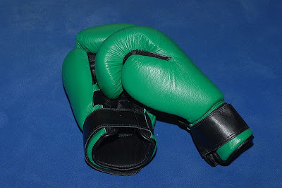 Boxing gloves - by Ralph Berger, via Wikimedia Commons - released under Creative Commons Attribution-Share Alike 3.0 Unported license.